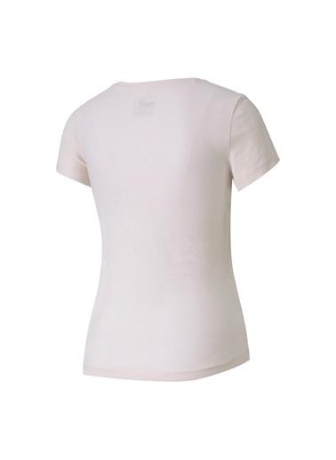 Puma Puma 58255617 ESS+ Tee Açık Pembe Kız Çocuk T-Shirt Pembe